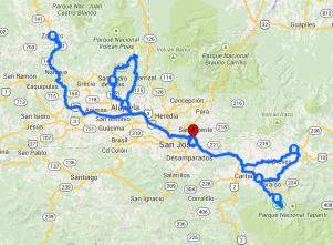 TOPO Nexos 2015 IDENTIDAD Y PAISAJE (ISEM2015): Pacayas, Orosi, Zarcero y San Pedro de Poás