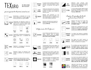 TEXario: glosario gráfico del lenguajevisual