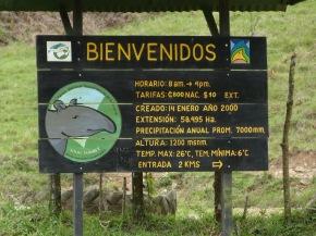 Gira TEX (todos los niveles): Parque Nacional Tapantí –indicaciones