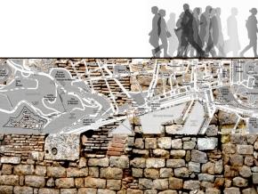 TEX CALENTAMIENTO / arqueología urbana / huellas de la historia en laciudad