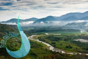 Tour virtual del sitio: las ruinas de Ujarrás, ruta 244 Ciclismo Recreativo (Orosi) y mirador ICR(Orosi)