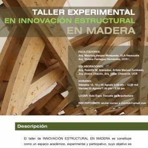 Taller Experimental de Innovación Estructural enMadera