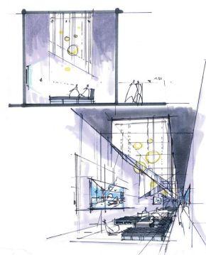 Ambientación Arquitectónica: algunos ejemplos desde la perspectiva y elcorte