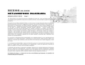 Actividad de diseño | N 1 | Metamorfosisimaginaria